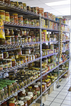 Large selection of Imported Foods
